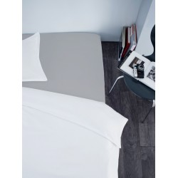 Fitted sheet - Gris clair